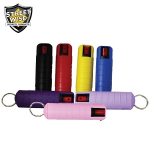 ½oz SW18 Hardshell Pepper Spray (multiple colors choices)