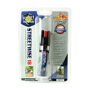 ¾oz SW18 Pepper Spray with Keyring and Clip