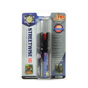 2oz SW18 Pepper Spray with Twist Lock